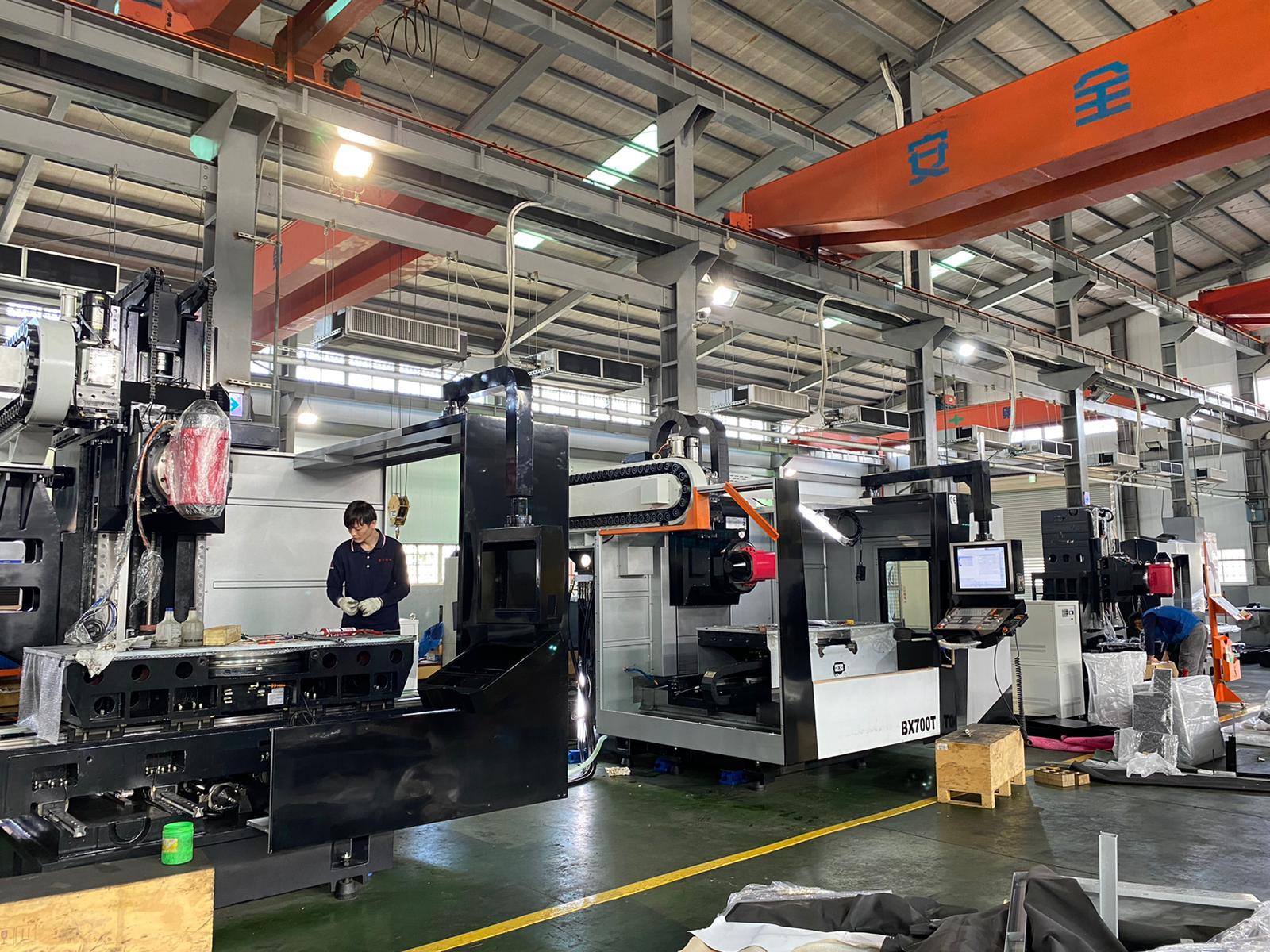 Image Pinnacle machines being built