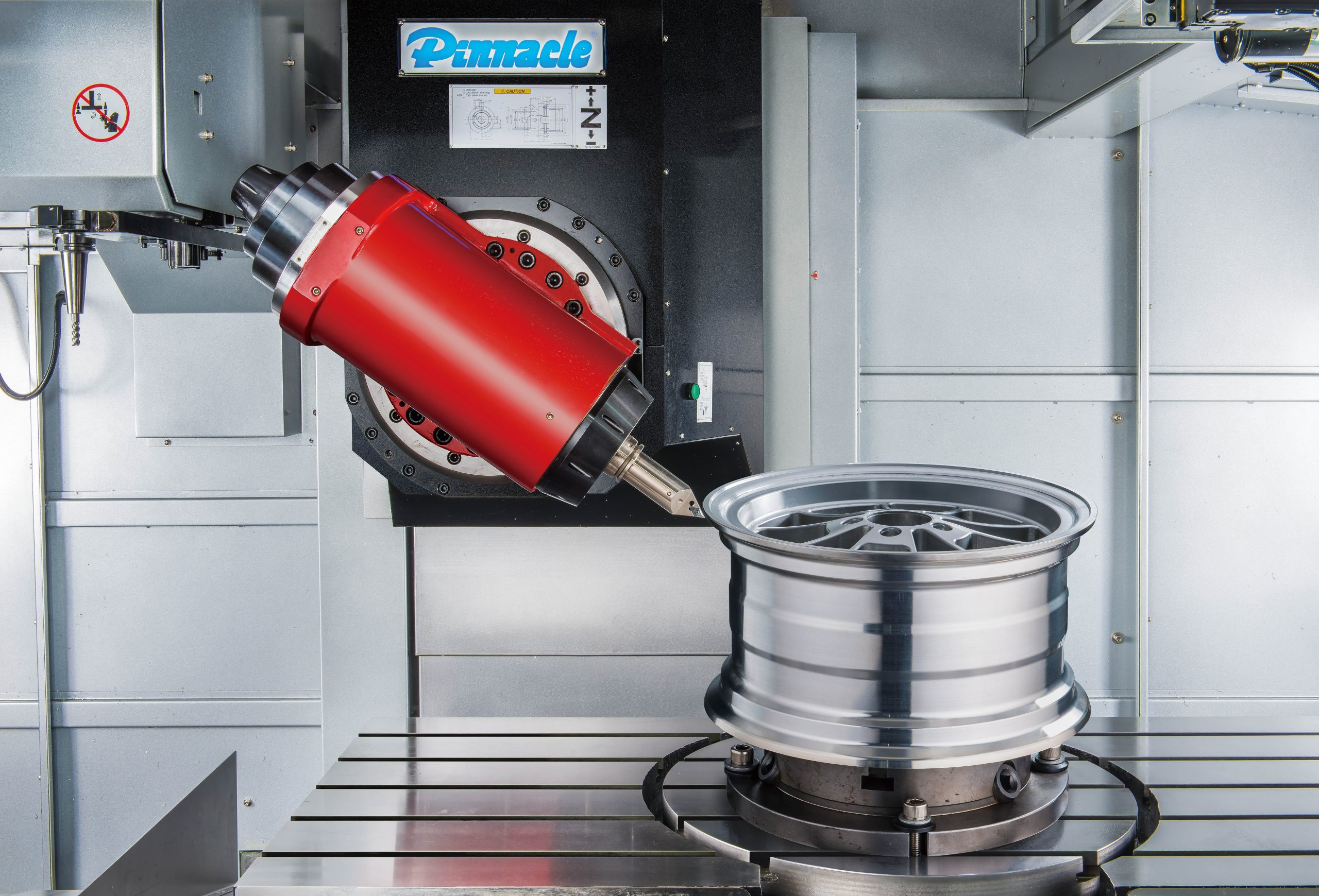 The most versatile 5 axis machines available